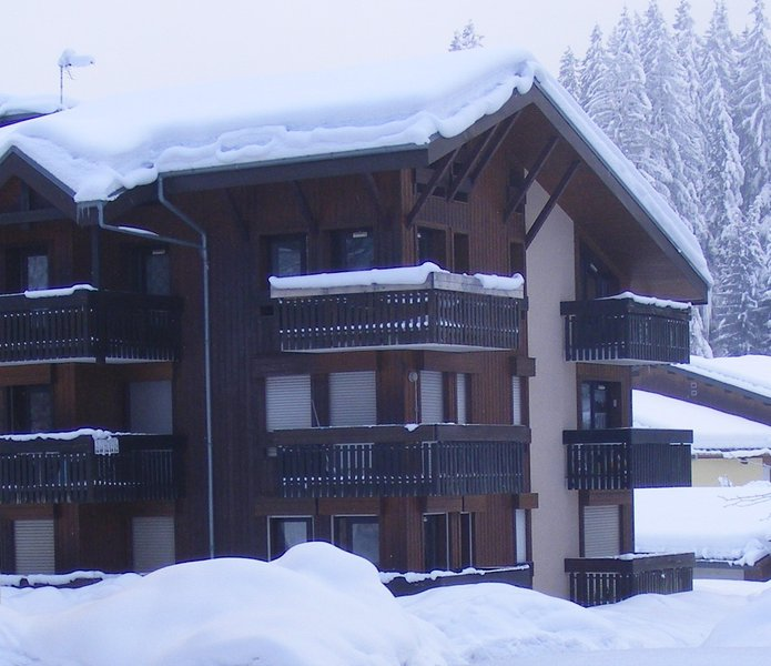 Le Fayard in the snow