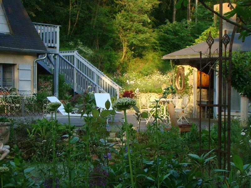 Le jardin de Saint Jean, holiday rental in Pronleroy
