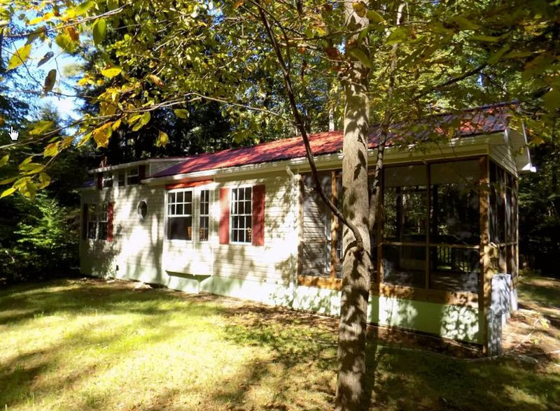 Old World Village Cabin #2, holiday rental in Davenport Center