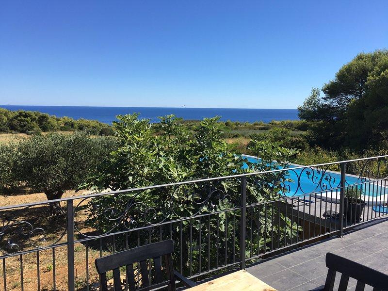 Stunning sea view newly furbished house Villa Tina, holiday rental in Vis