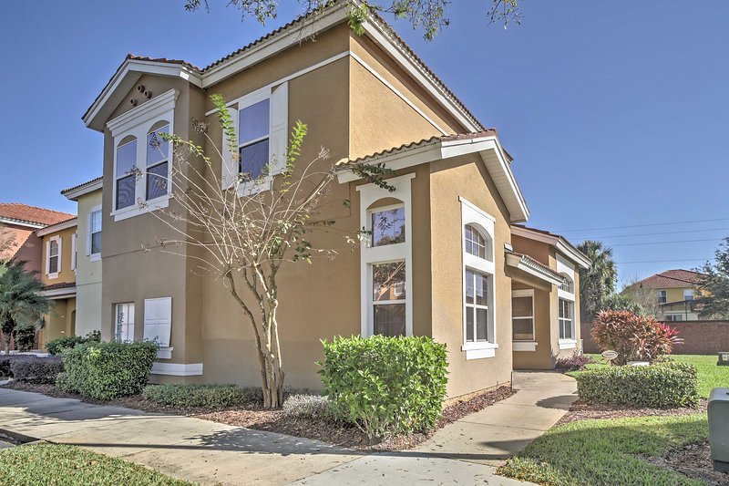 Experience the magic of the Orlando area from this Kissimmee vacation rental townhome!