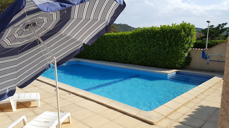 Lovely heated pool area