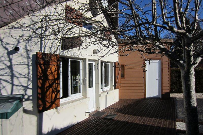 Terrasse pour les soirées d'été