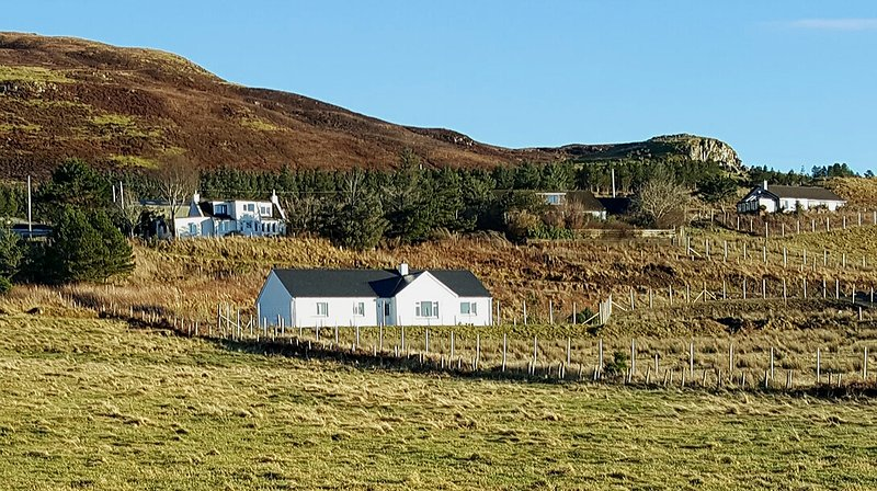Lovely location in rural Borve yet close to Portree
