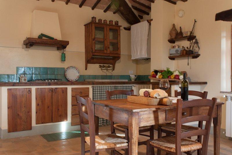 Casa di Maria appartamento nella campagna Toscana tra Montalcino e Siena, vacation rental in Vergelle