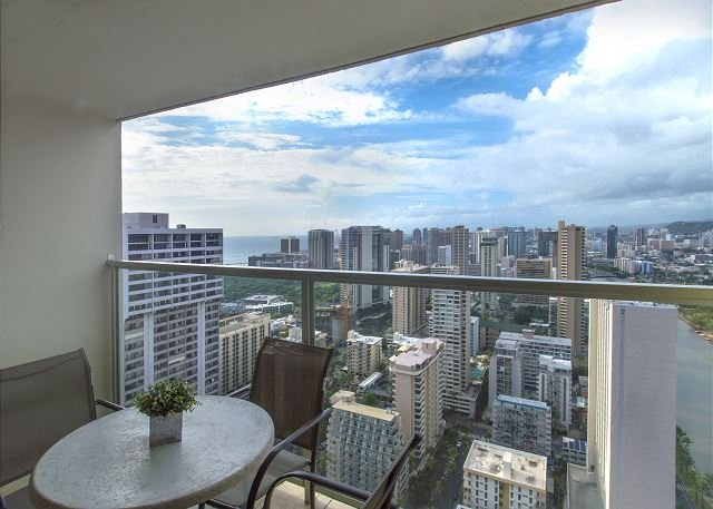 Vacation Rental Balcony Waikiki