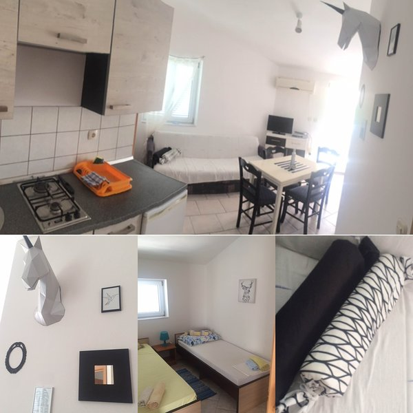 ➼ Apartment #6 Cozy, equipped flat for up to 4 ppl / 2 bedrooms / close to beach, holiday rental in Gajac
