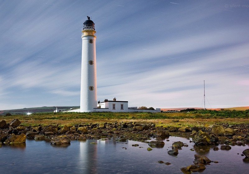 Barns Ness Lighthouse Cottage  5 bedroom waterfront holiday cottages Dunbar, holiday rental in Dunbar