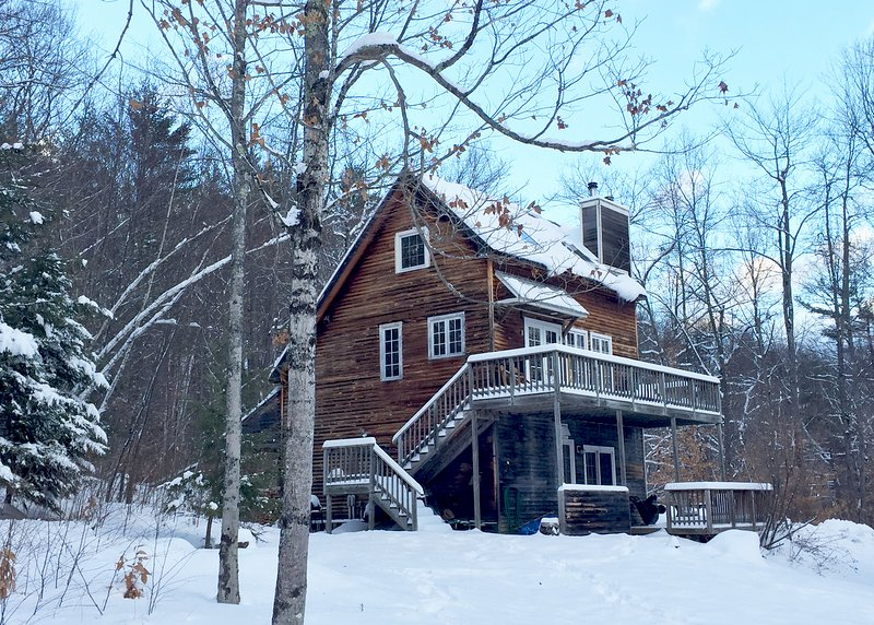 New snow in Newfane, winter 2016-17