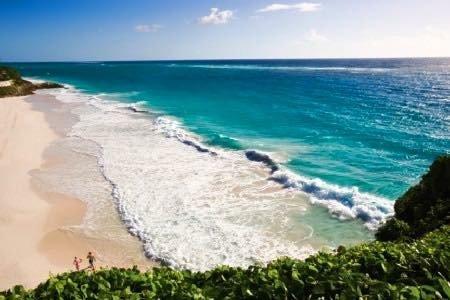 Luxury one bedroom ocean view suite overlooking the award winning Crane Beach, vacation rental in Six Cross Roads