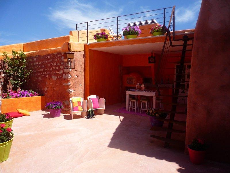 MAISON ORANGE, alquiler vacacional en Turquel