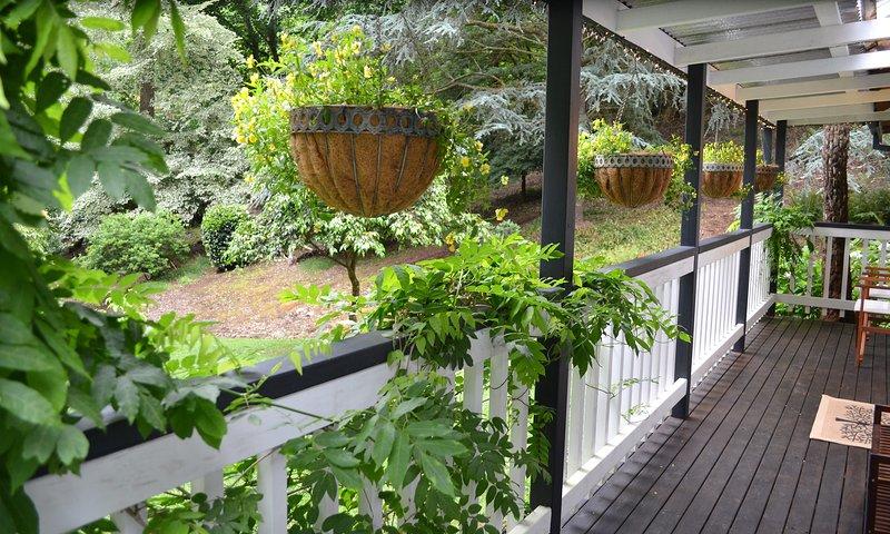 Vue depuis le porche