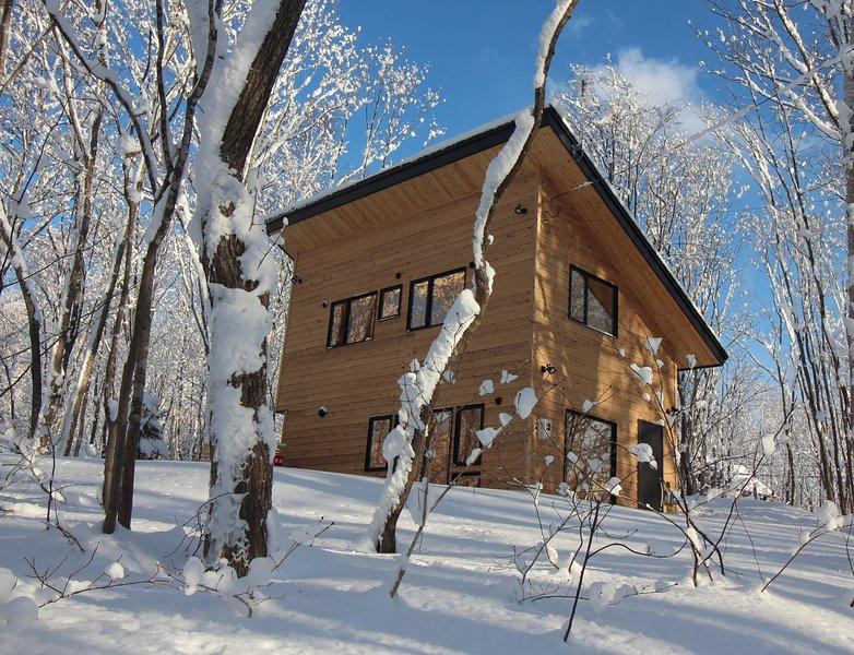 Afgelegen Soga Forest Cottage