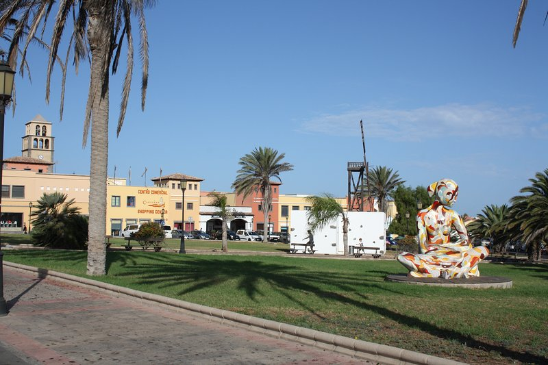 Campanario shopping center,located at 100 meters far of our villa