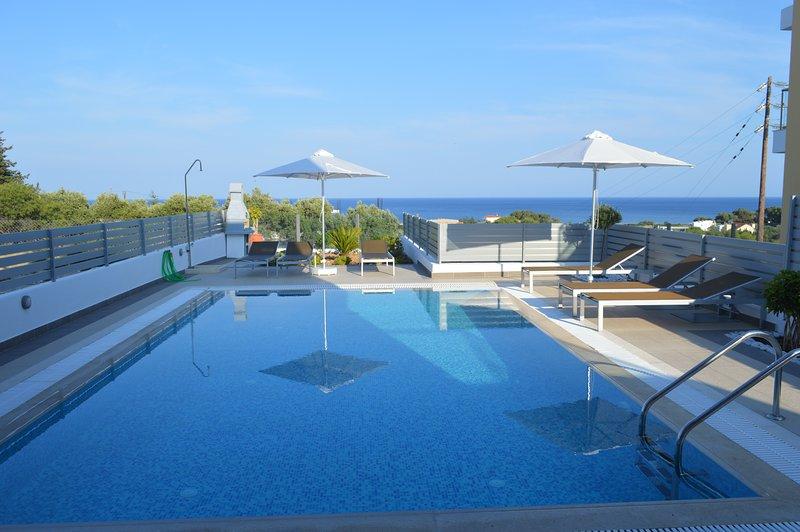 Gennadi Aegean Horizon villas villa A2, vacation rental in Gennadi