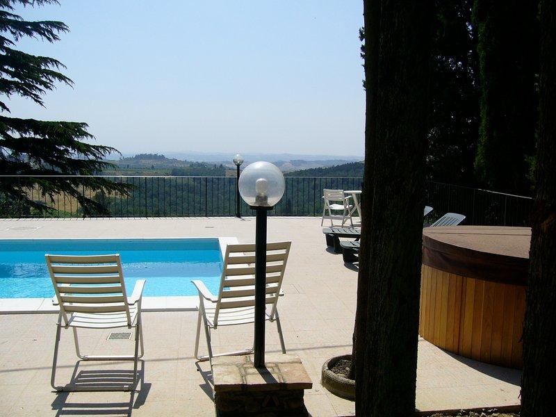 Villa Firenze - Casa Serena, alquiler vacacional en Montegufoni