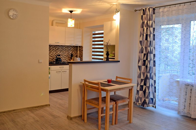 Simple, cozy & coffee - Draugystes apartment, holiday rental in Siauliai County