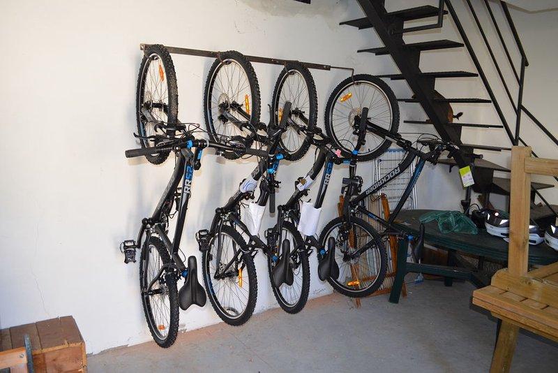 Le biciclette per gli ospiti