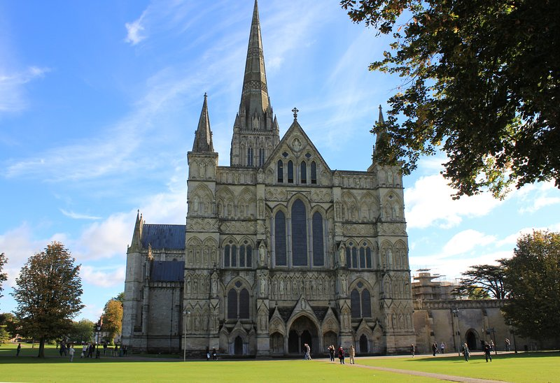 Salisbury Cathedral - the west front