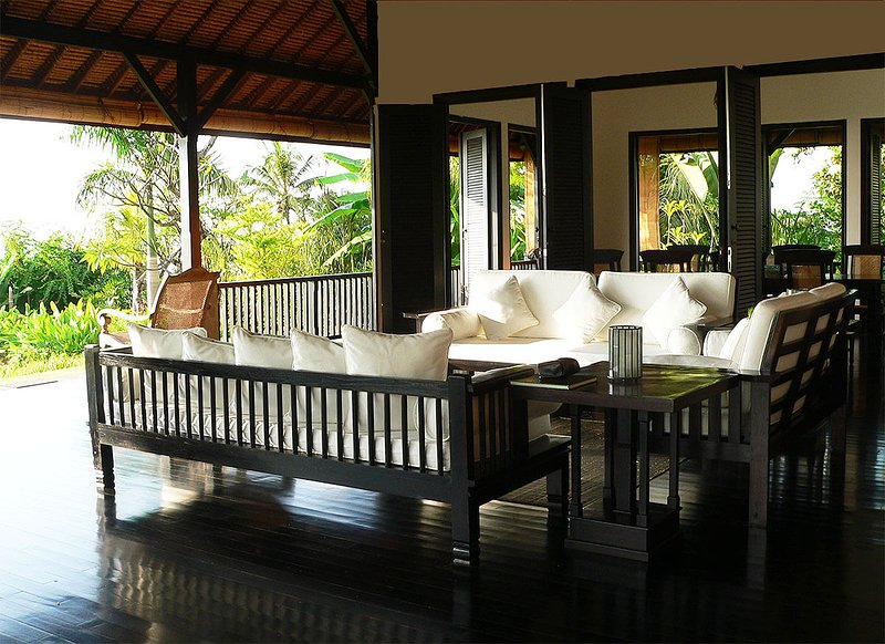 The open air living room