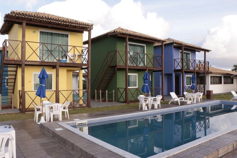 Alugo a diária chalets beira mar, vacation rental in Guarajuba
