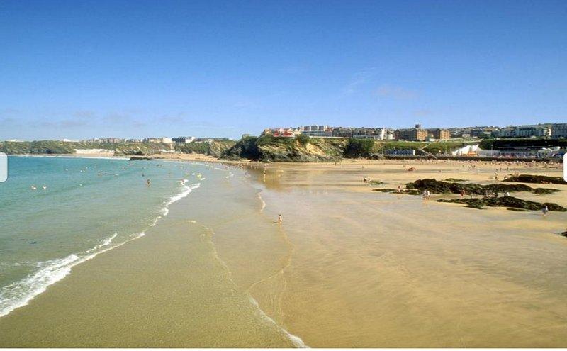 Towyn spiaggia dal porto