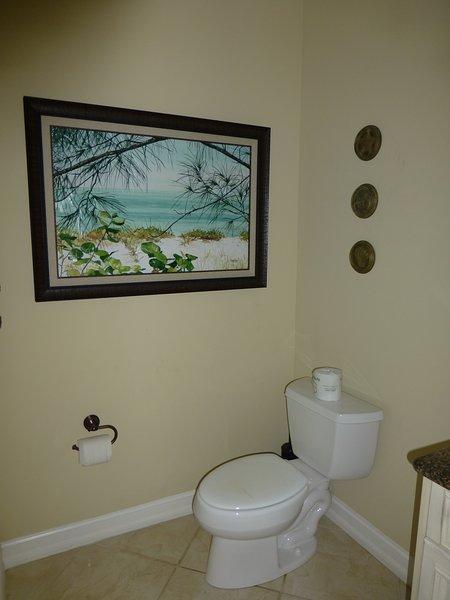 Das Bad auf der zweiten Etage