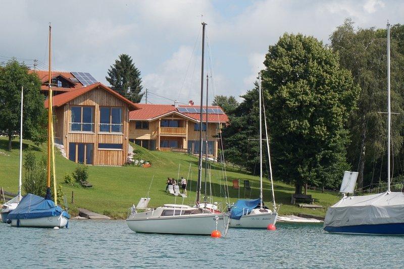 das SEE-IDYLL - Premium-Chalet am Forggensee, holiday rental in Dietringen