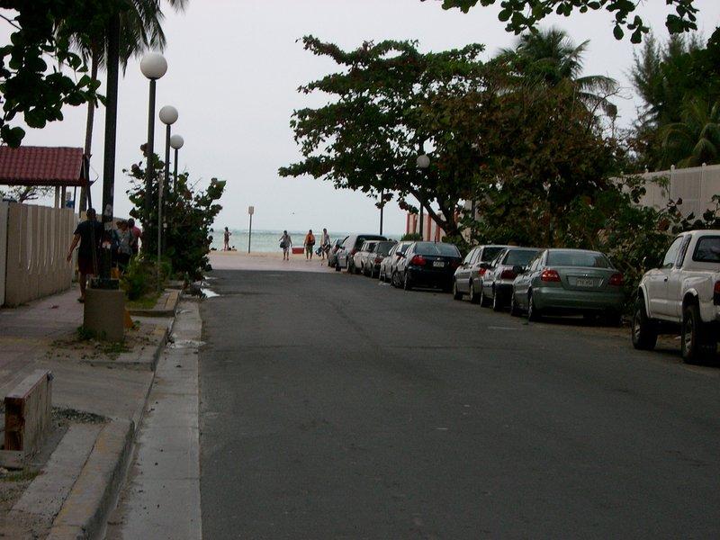 Calle de la playa