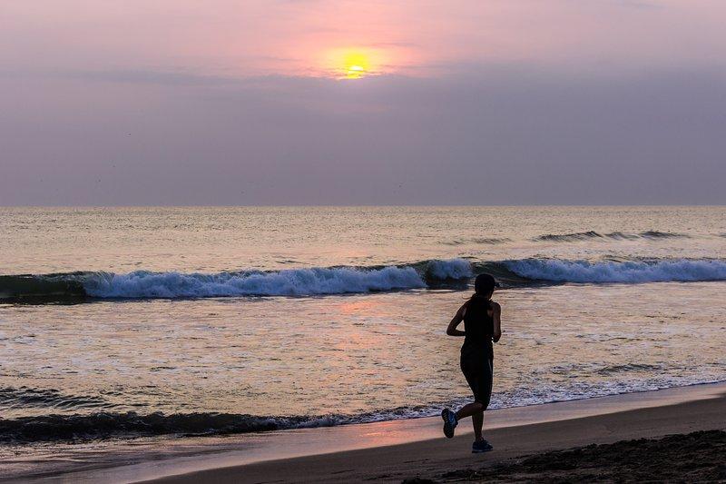 Η παραλία Batu Belig μόλις λίγα λεπτά από τη βίλα.