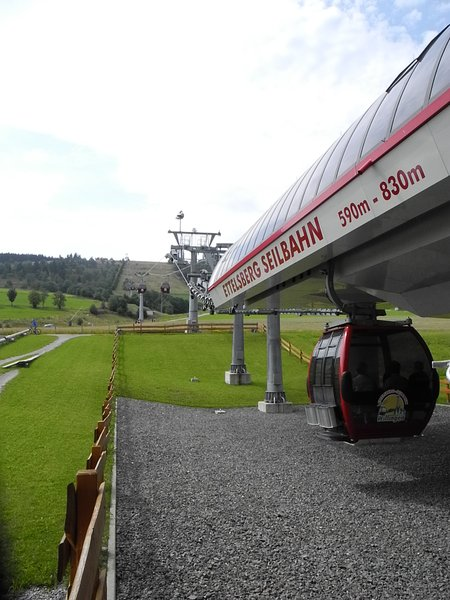 Téléphérique à Willingen en été (randonnée, VTT de descente, excursions en vélo de montagne, etc.)