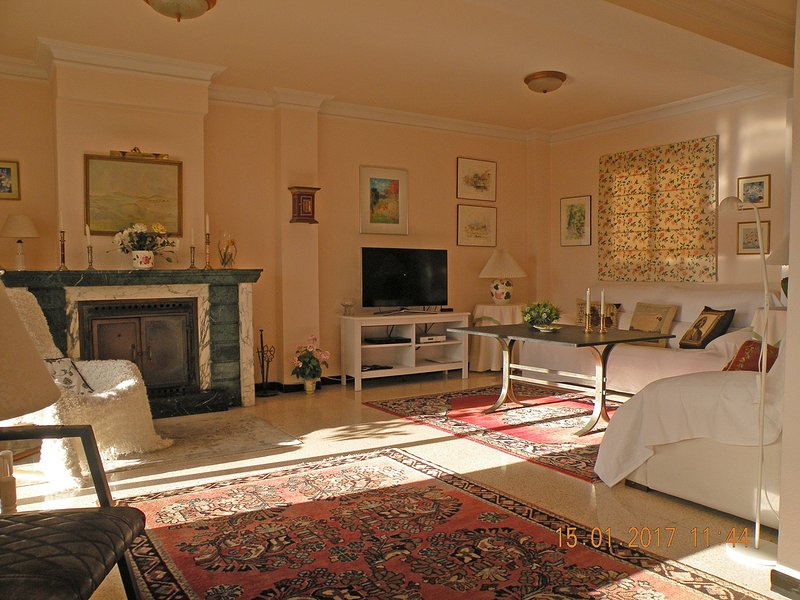 komfort i vardagsrummet