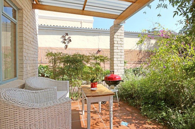 Cottage patio autre vue