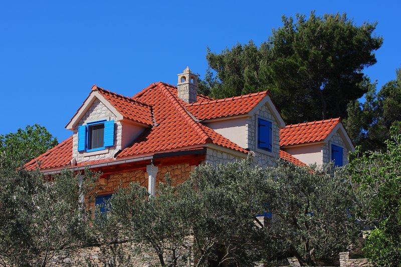 Villa Olea, Splitska, Island of Brac, Croatia, location de vacances à Splitska