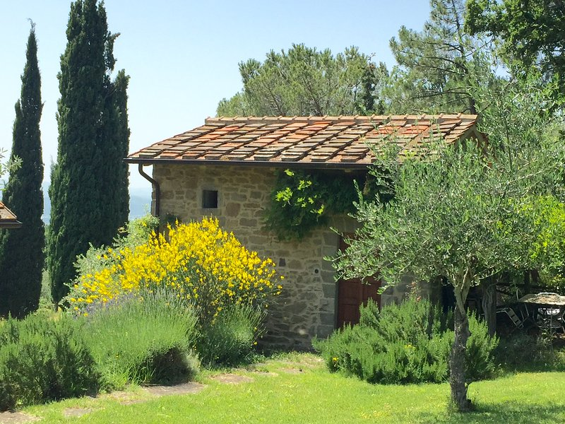 Independent accommodation with pool, holiday rental in Bagnena