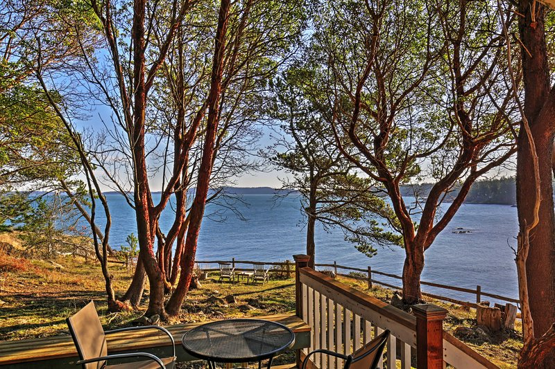 Book a trip to Friday Harbor and enjoy relaxing at this vacation rental house!