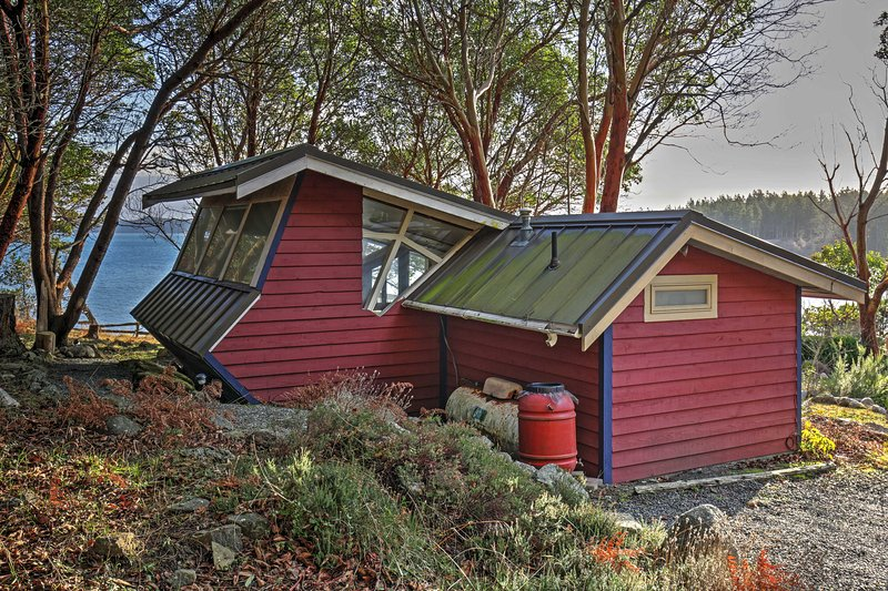 There's no surpassing the unique beauty of this Friday Harbor property!