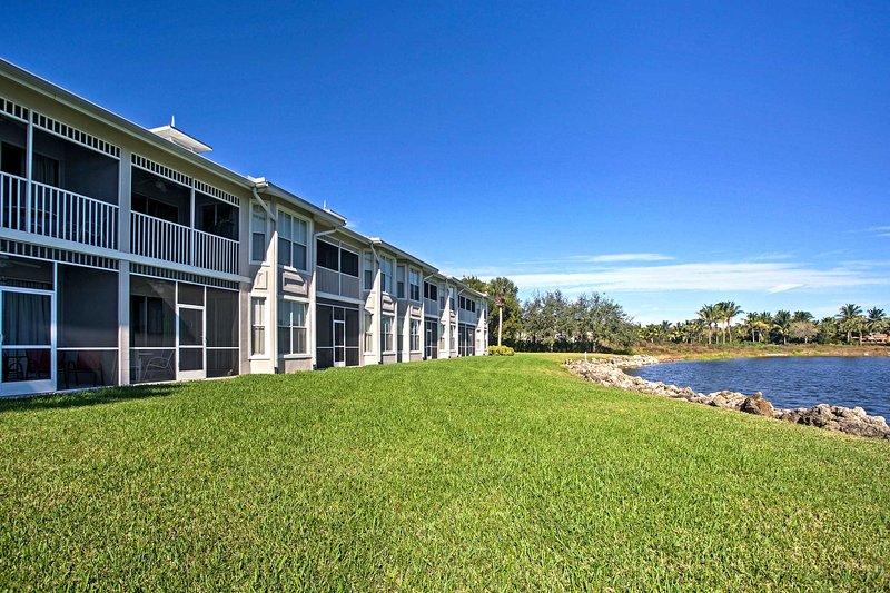 Denna semester hyra lägenhet ligger i en resort erbjuder logi för 6.