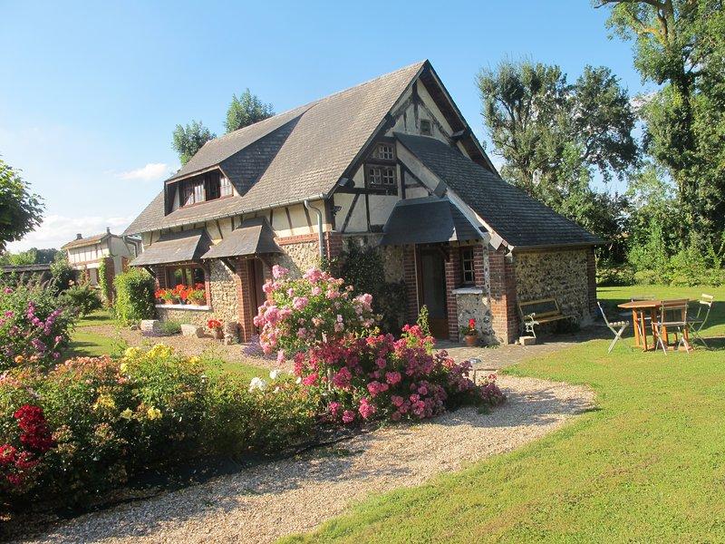 Maison de charme proche Evreux et Giverny, alquiler de vacaciones en Eure