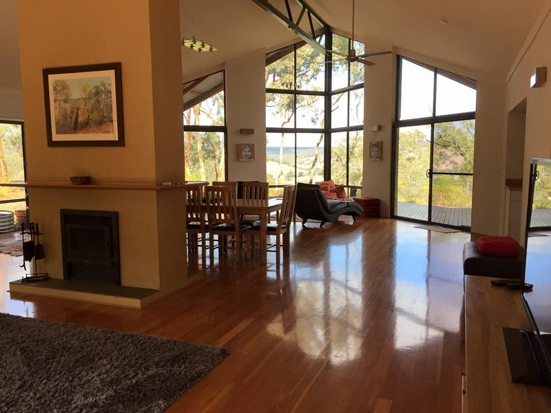 Open Plan Living Area on the Edge of the World overlooking the spectacular Chittering Valley