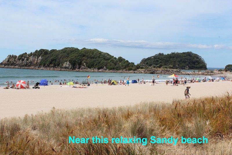 Popular Sandy beach