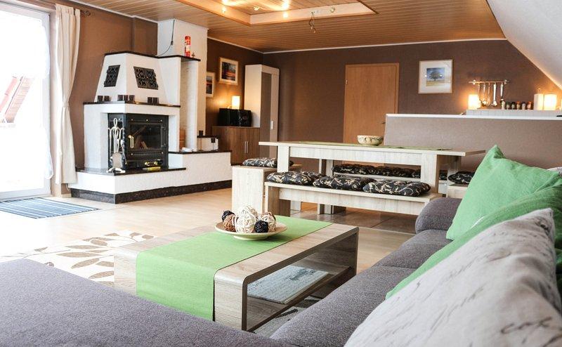 4 Raum Ferienwohnung bei Neubrandenburg in Ihlenfeld, holiday rental in Hohenzieritz