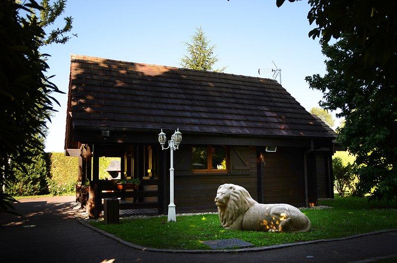 LE CHALET LION, Ferienwohnung in Danjoutin