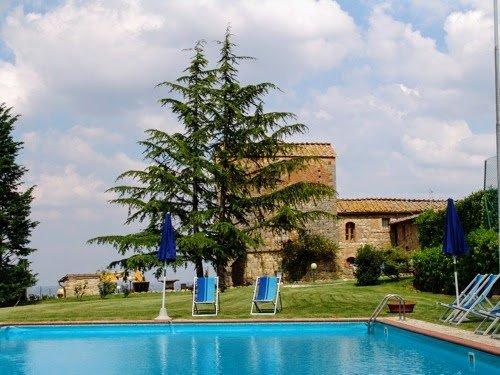 Libbiano Villa Sleeps 12 with Pool and WiFi - 5311078, casa vacanza a Pancole