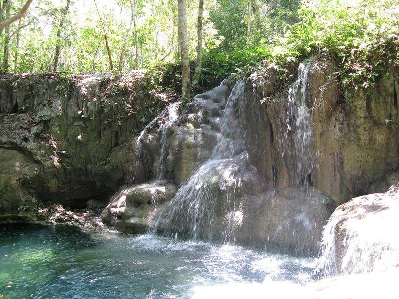 Cristo Rey water falls.....