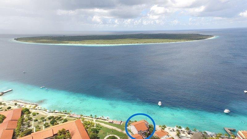 Klein Bonaire na frente