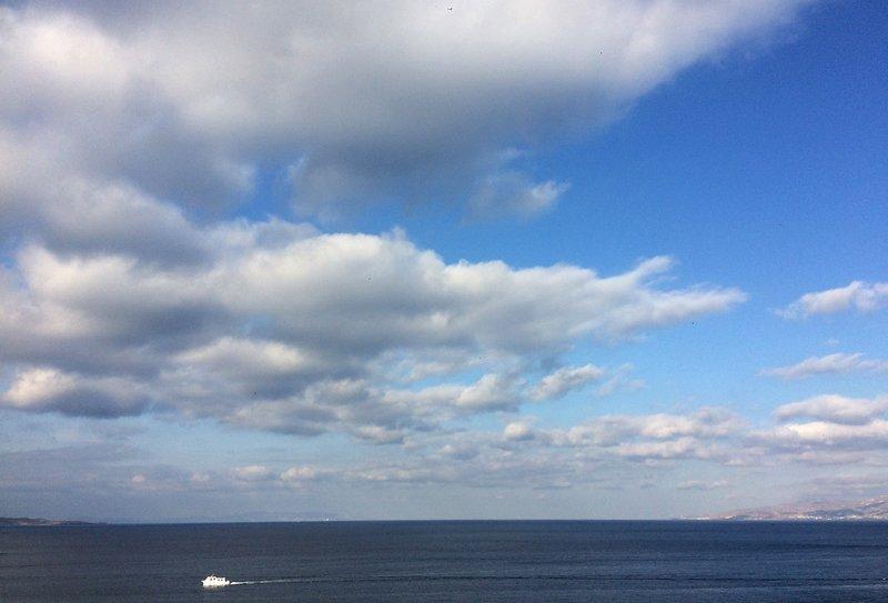 φθινοπωρινό ουρανό