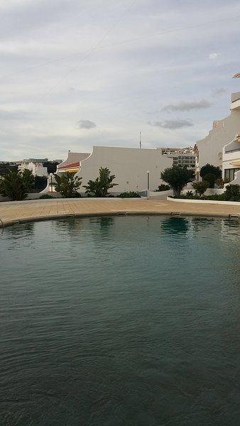 piscina do 300m residência para além mar e praia