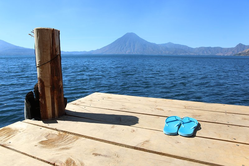 Atitlan Sunset Lodge Studio, holiday rental in San Pedro La Laguna