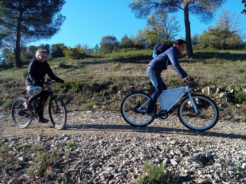 Randonnées en vélo à assistance electrique